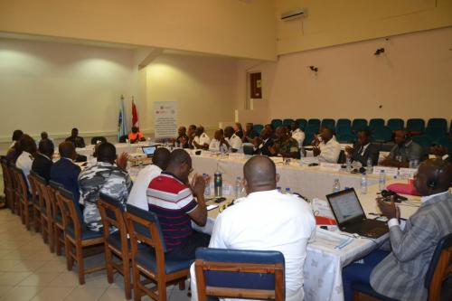 Participants at the International Forum on the Status of Implementation of the Yaoundé Protocol